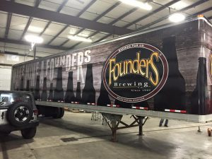 Converse Vehicle Wraps trailer wrap semi vehicle vinyl graphic 300x225