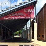 UW Custom Bleacher Vinyl Outdoor Banner