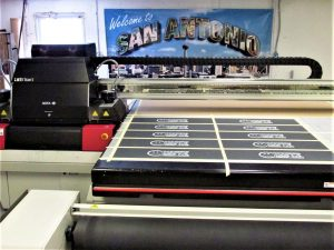 Custom sign production Castroville
